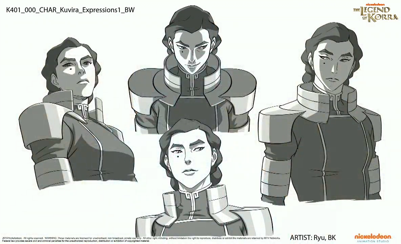 Character sheets for kuvira in the legend of korra tv shows benditlikekorra the legend of korracharacter voltagebd Image collections