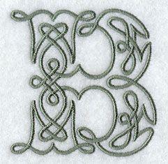 Celtic Letter B Designs Tattoos