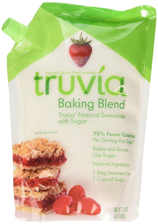 Truvia Baking Blend Natural Sweetener 24 Oz Pack Of 2 Truvia Baking Blend Truvia Ingredients Recipes