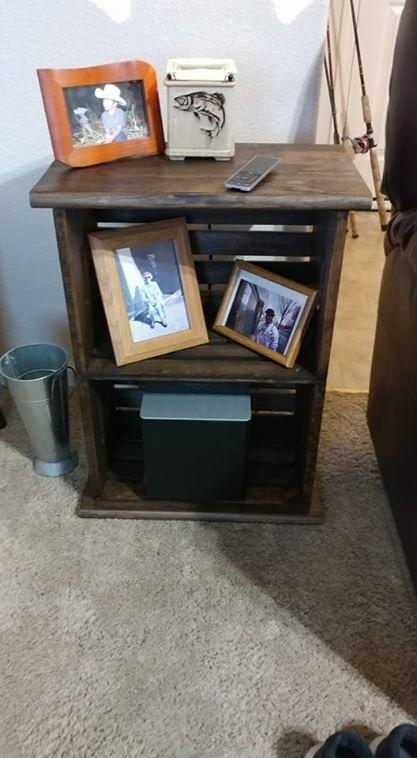 Photo of Woodline Works Wood Crate   JOANN