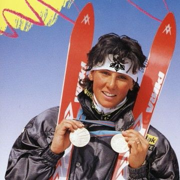 Maria Walliser - Svizzera - winner 1986, 1987   Sci Alpino ...