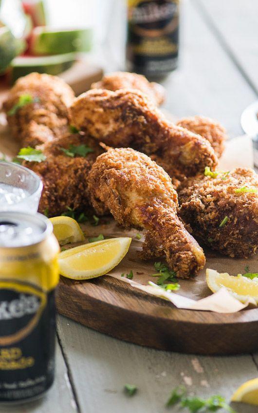 Hard Lemonade Fried Chicken Recipe Cooking Chicken Wings Chicken Wing Recipes Poultry Recipes