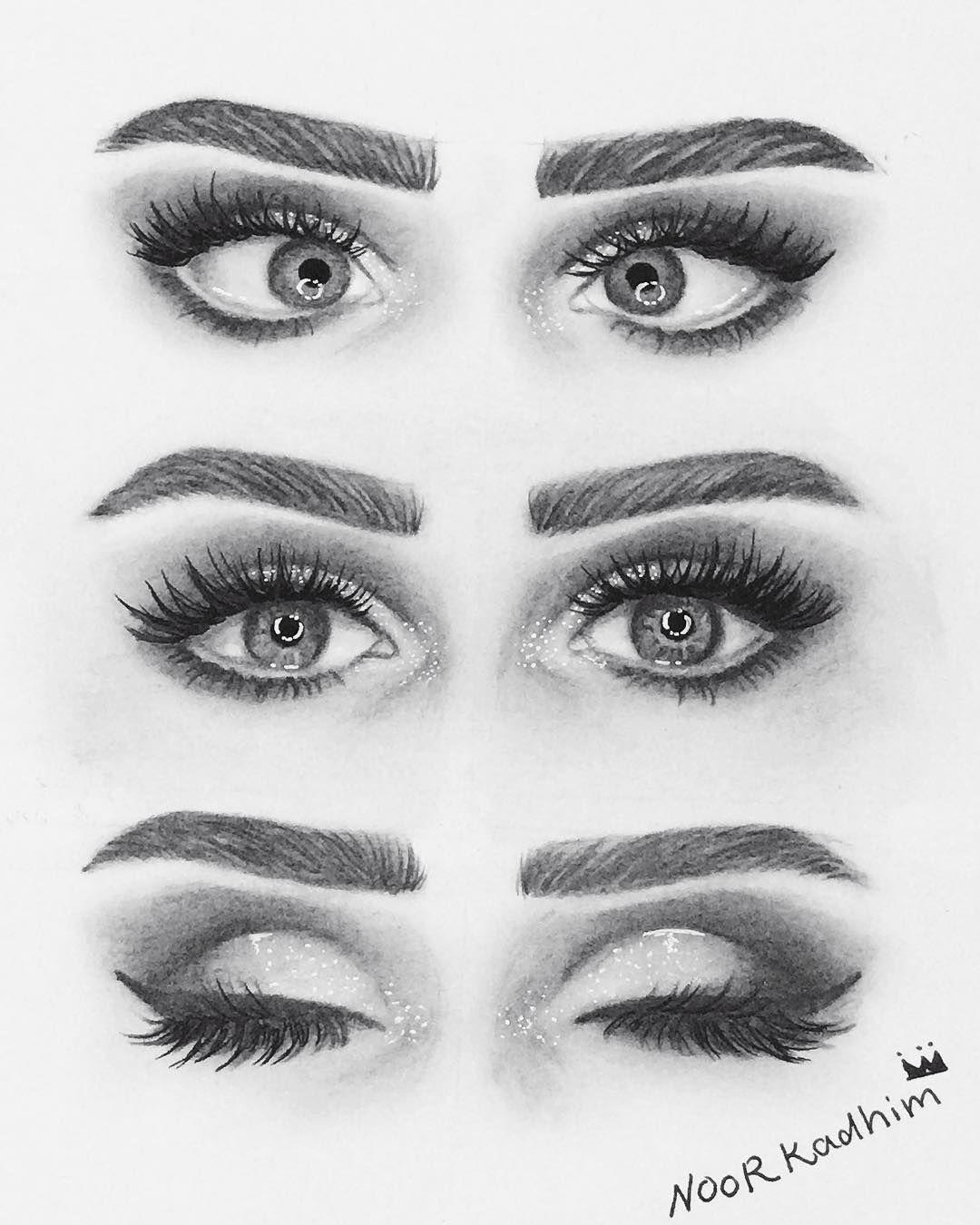 رسمتي رسم رسومات رسمتي فن لمسة عراقية لمسة فن عيون رموش مكياج لوحات رماديه ابيض اسود رمزيات Art Drawings Simple Cute Art Styles Art Drawings