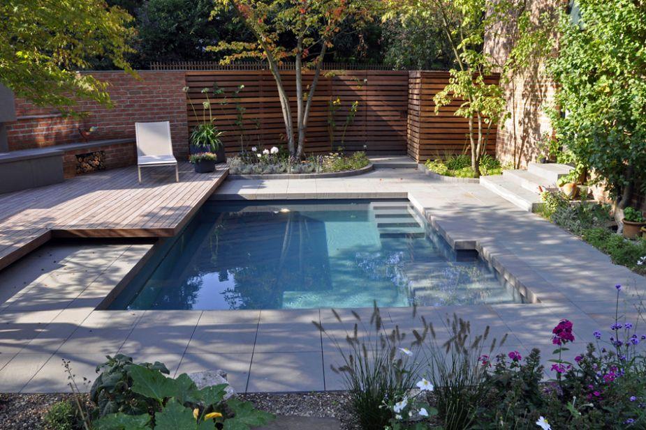 Wasserwelten Terramanus Landschaftsarchitektur Swim Pinterest - reihenhausgarten vorher nachher