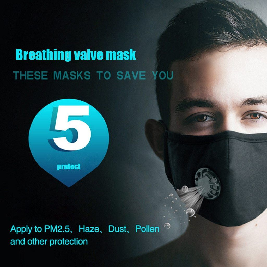 Military Grade Reusable Filter Mask (With images) Half