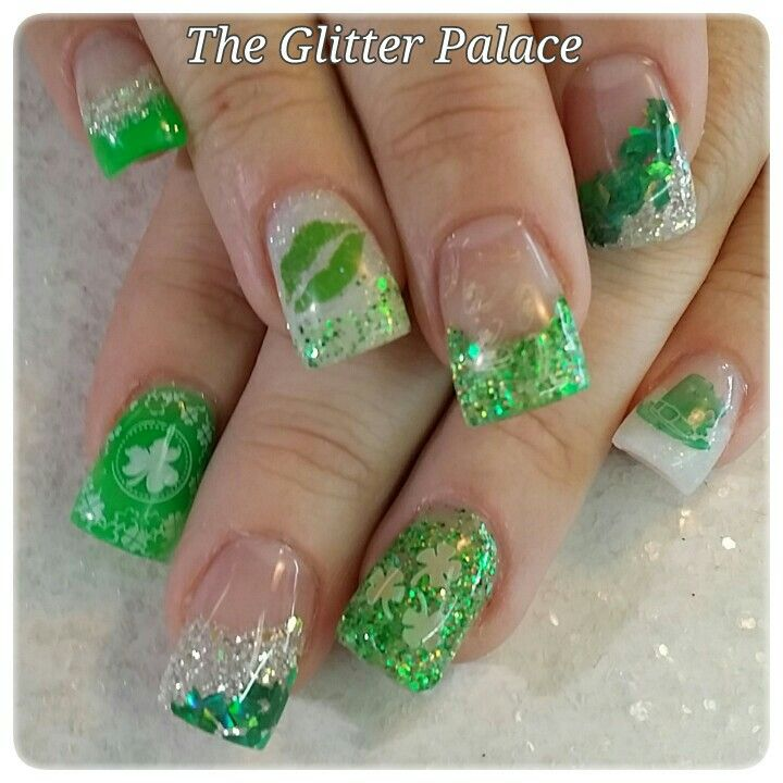 Acrylic nails by Kristal @ The Glitter Palace | nail ideas ...
