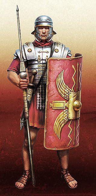 Legionario Roman Soldiers Roman Warriors Roman Armor