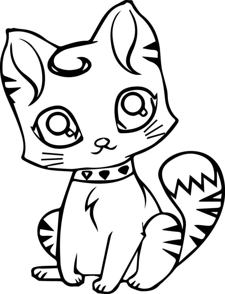 Cat Coloring Pages With Images Cat Coloring Page Animal