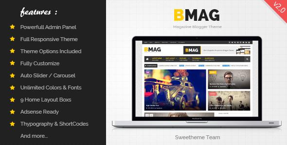 BMAG v2 1 1 Responsive Blogger Template Platform: Blogspot