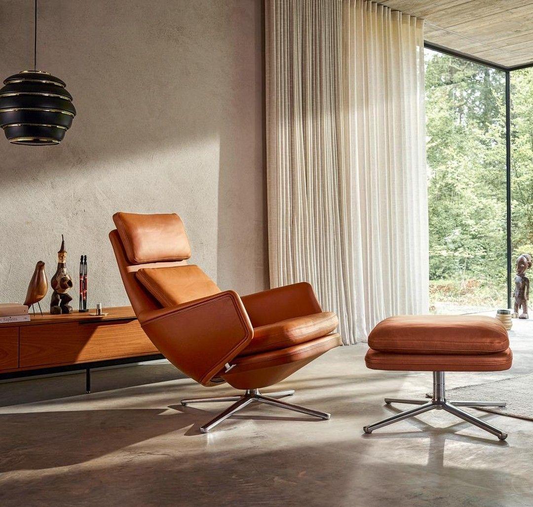 Einer Der Gemütlichsten Lounge Sessel Die Wir Kennen Grandrelax Vitra Antoniocitterio Loungechair Interiordesign Möbeldesign Sessel Innenarchitektur