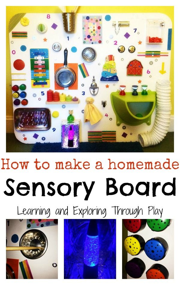 Diy Sensory Board Fun For Children Diy Sensory Board Diy