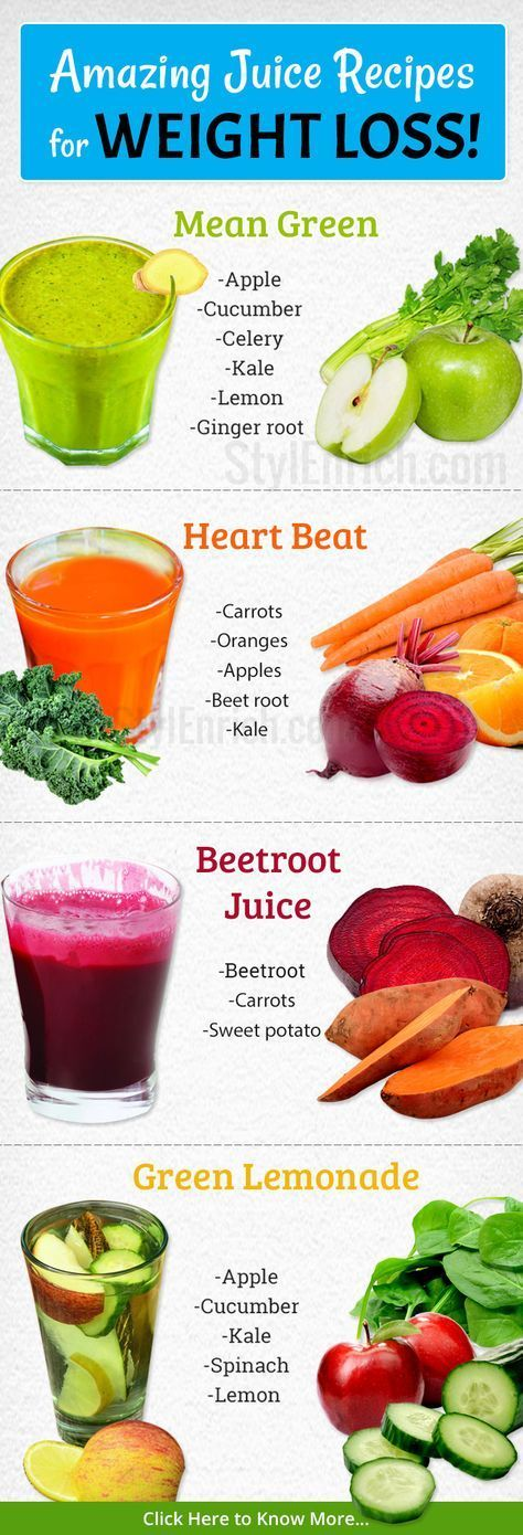 How to lose weight fast with vegetable juice