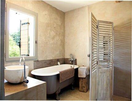 paravent pour créer une espace pour la salle de bain | bathroom ... - Paravent Pour Salle De Bain