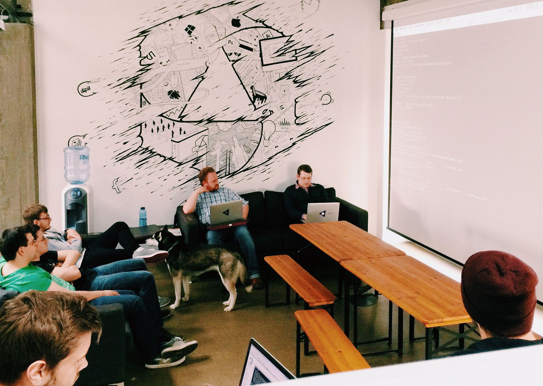 developers meeting | code | software | program | appcom office