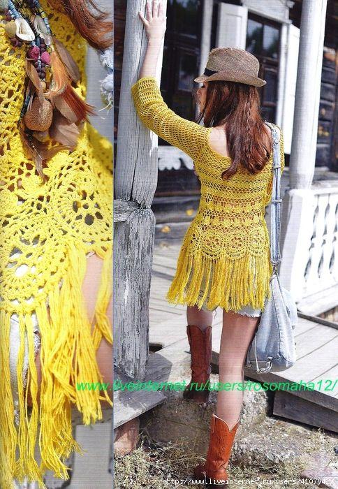 151b85f6caa7e Inspirações de Croche com Any Lucy  Blusa