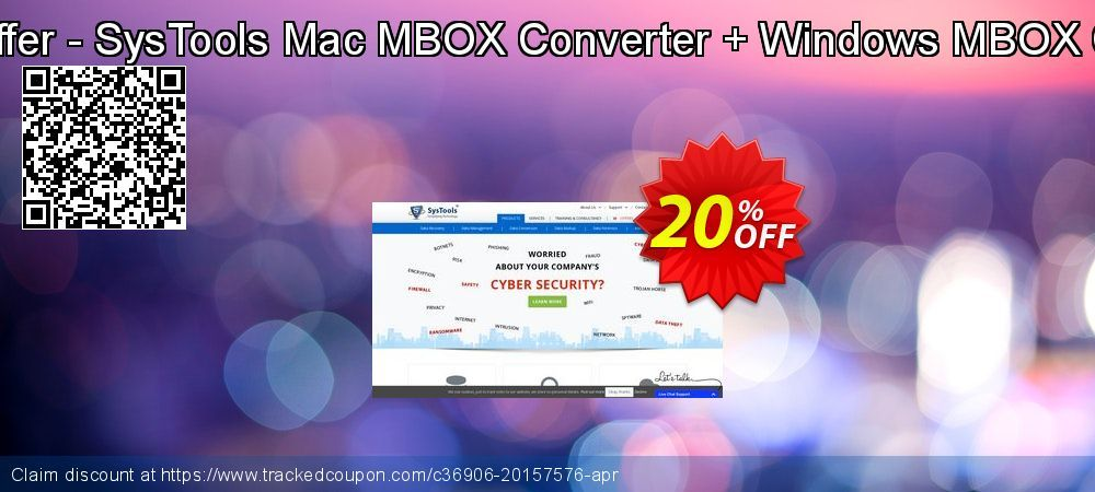 Bundle Offer - SysTools Mac MBOX Converter + Windows MBOX Converter