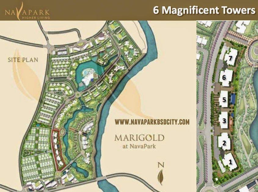 Marigold Nava Park Condominium / Apartemen Terbaru BSD