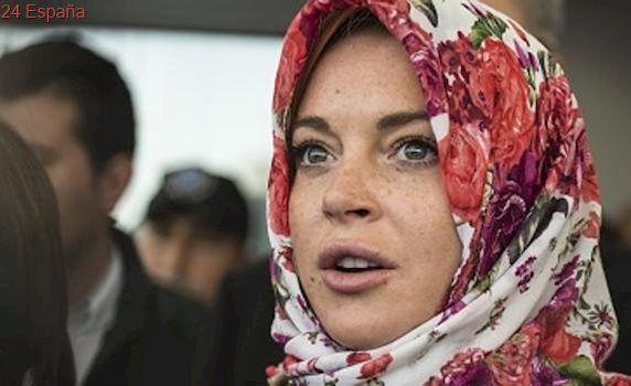 La actriz Lindsay Lohan se sintió «discriminada» en Londres por llevar velo