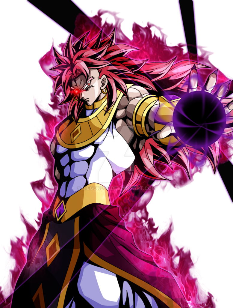 Broly god ssj rose render 2 by diegoku92 cool stuff - Broly dragon ball gt ...