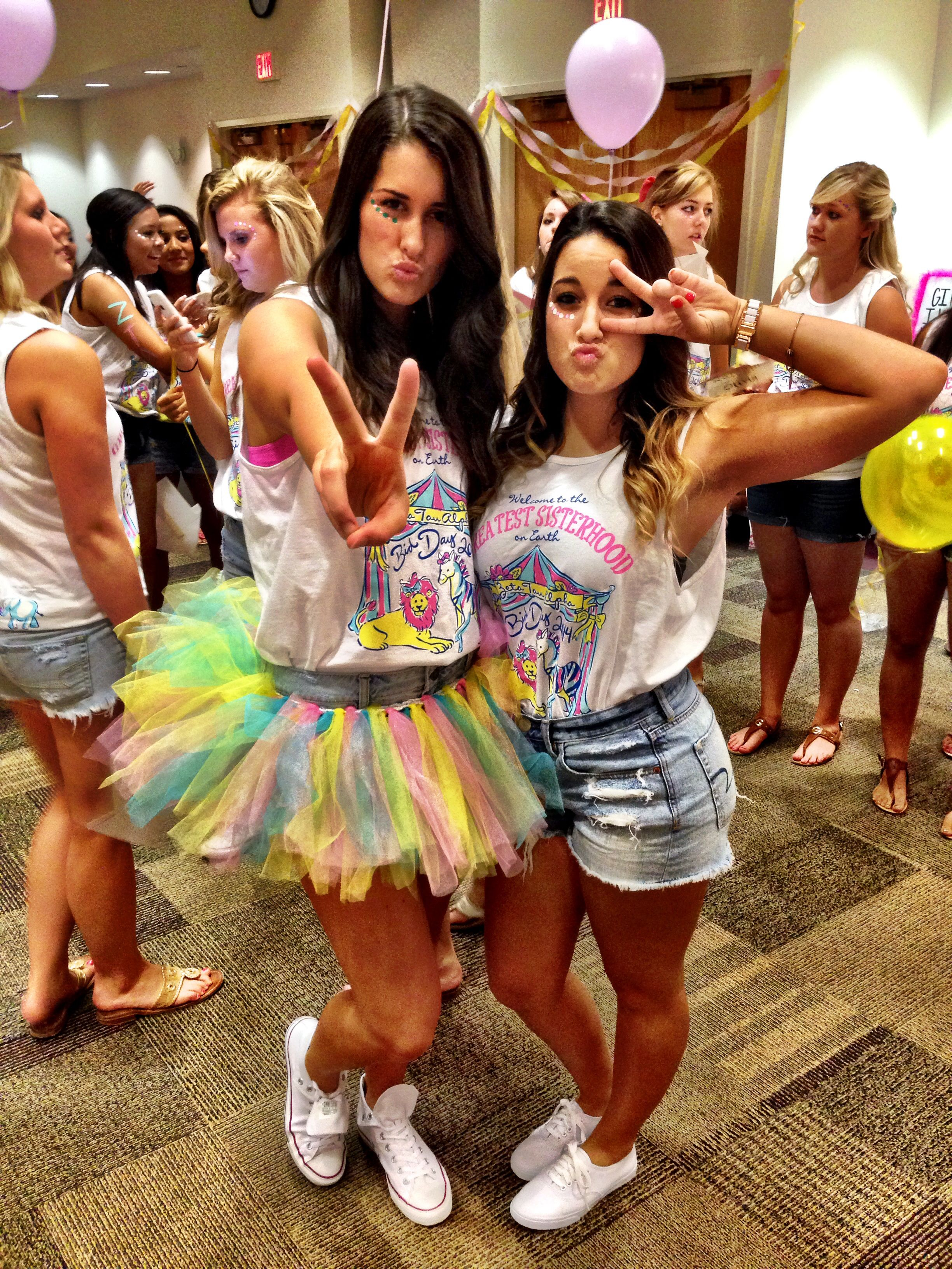 ZTA circus bid day! #lambdaeta #vcu | Zeta | Pinterest | Sorority ...