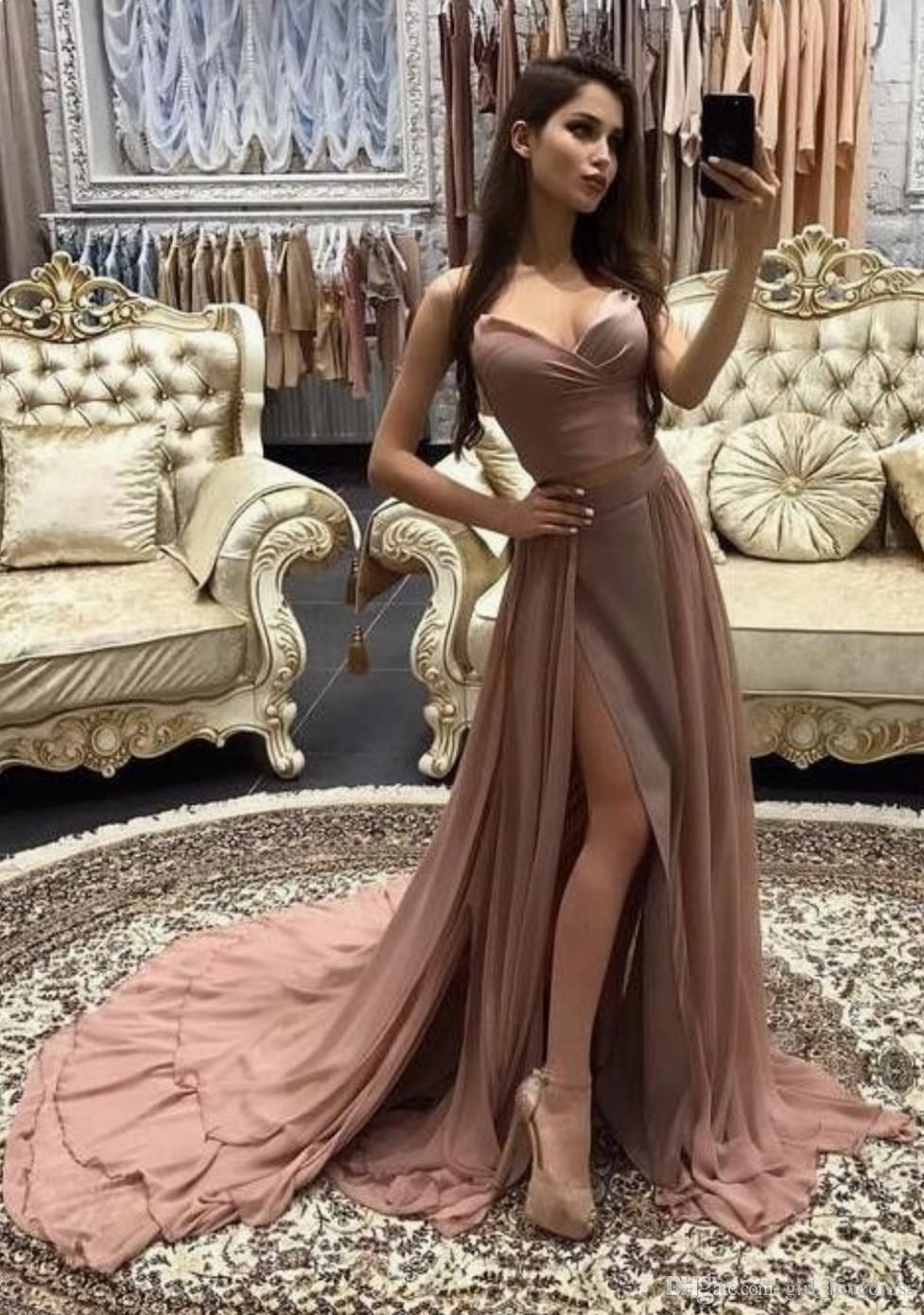 Elegant sweetheart aline prom dresseslong prom dressescheap prom