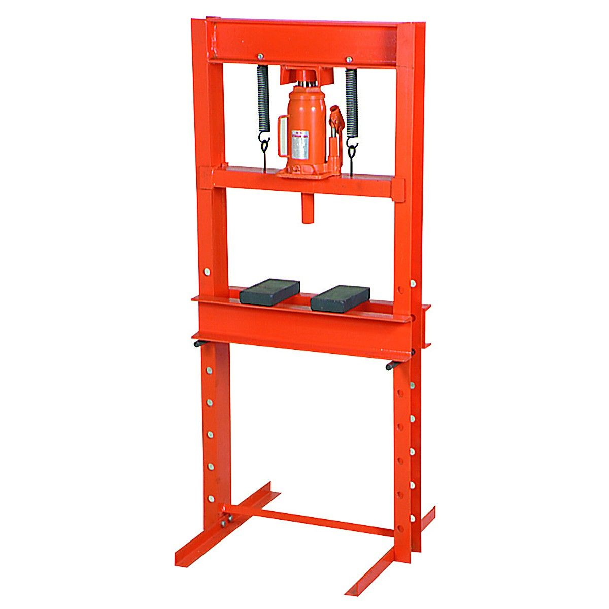 20 Ton H Frame Industrial Heavy Duty Floor Shop Press Shop Press Hydraulic Shop Press Harbor Freight Tools