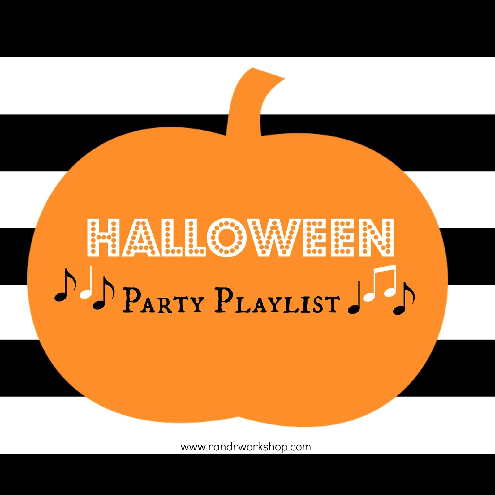Halloween Party Playlist (Mobile Friendly)
