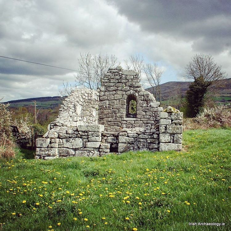 """Irish Archaeology.ie (@irish_archaeology) on Instagram: """"The ruins of a small c. 10th century church which is dedicated to saint Fotchern. It's located at Killoughterane, Co. Carlow."""""""