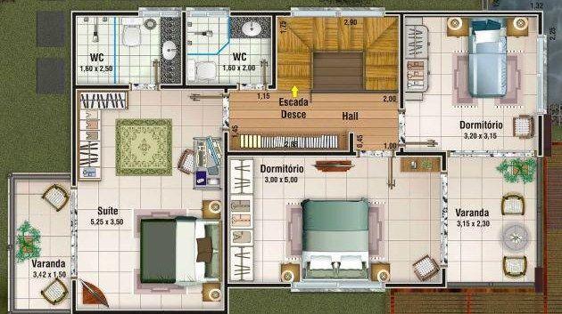 Planos De Casas Planos De Casas Grandes Planos De Casas Planos De Casas Modernas