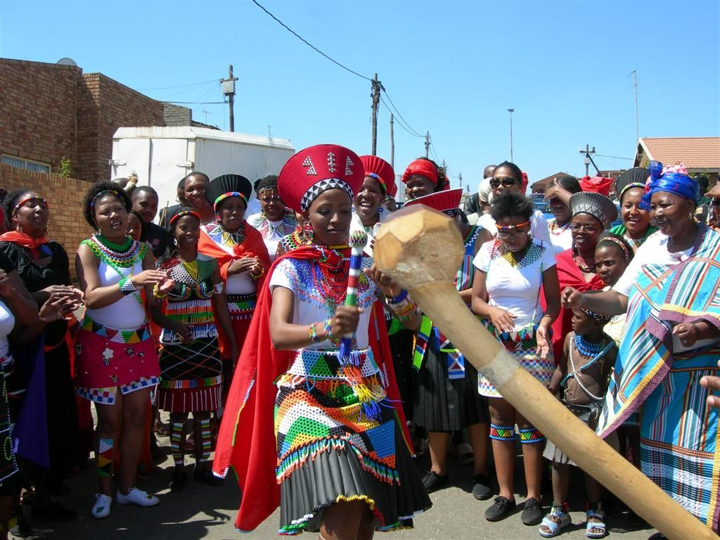 Share A Traditional Zulu Wedding Not In Rural Zululand But At Colourful Authentic Ceremony The Heart Of Soweto