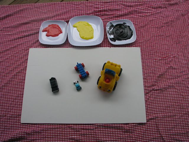 Play Create Explore: Toy Truck Painting