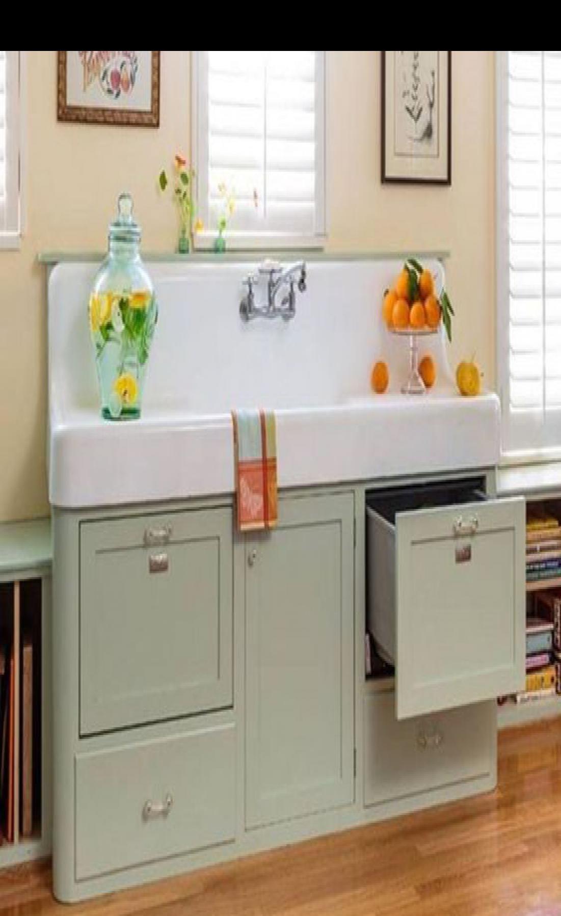 49 Gorgeous Farmhouse Gray Kitchen Cabinet Design Ideas In 2020 Vintage Kitchen Cabinets Vintage Sink Vintage Kitchen Sink