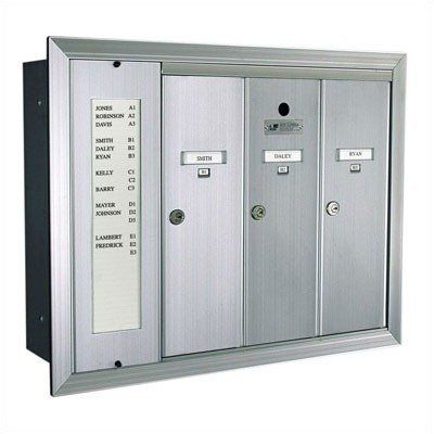 1255 Series Vertical Mailbox Unit With Directory Number Of Compartments Directories 2 Directories 4 Compartments Colo Home Safety The Unit Locker Storage