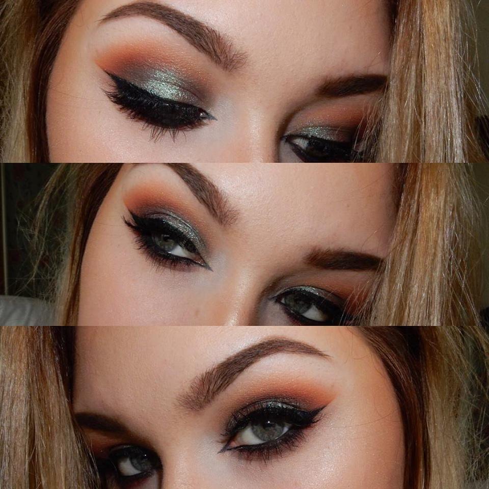 Makeup Geek Duochrome Eyeshadow in Typhoon + Makeup Geek