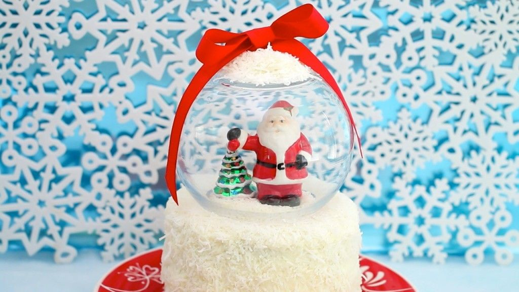 Snow Globe Cake by Gemma Stafford