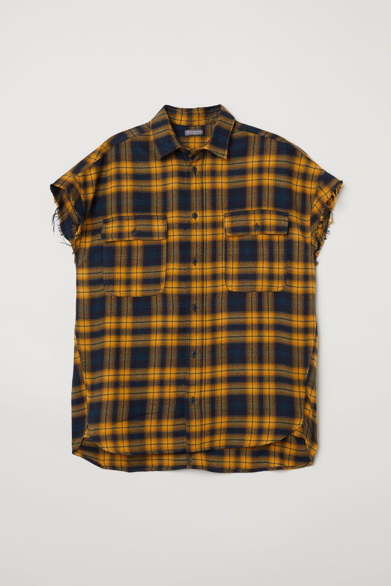 Flannel shirts yellow  HuM   Trend Report Menus Shirts  Pinterest  Men shirts