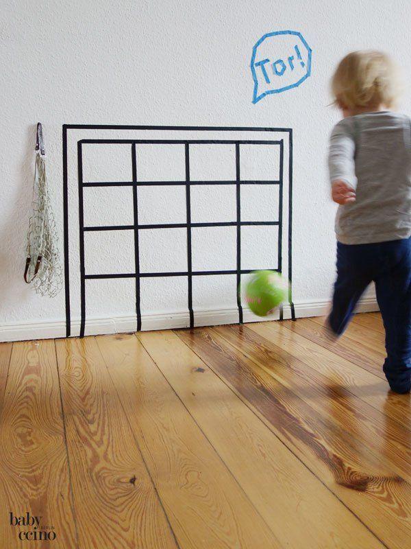 Tape-Tor für Indobor-Fußball-Spaß! | Auf eigene Faust - DIY ...