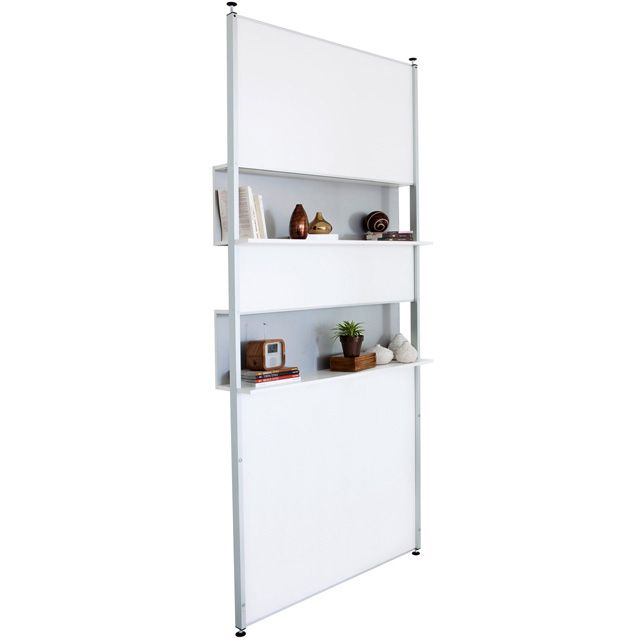 Cloison amovible biblioth que modulak castorama 145eur office design green eco wood - Cloison amovible studio ...