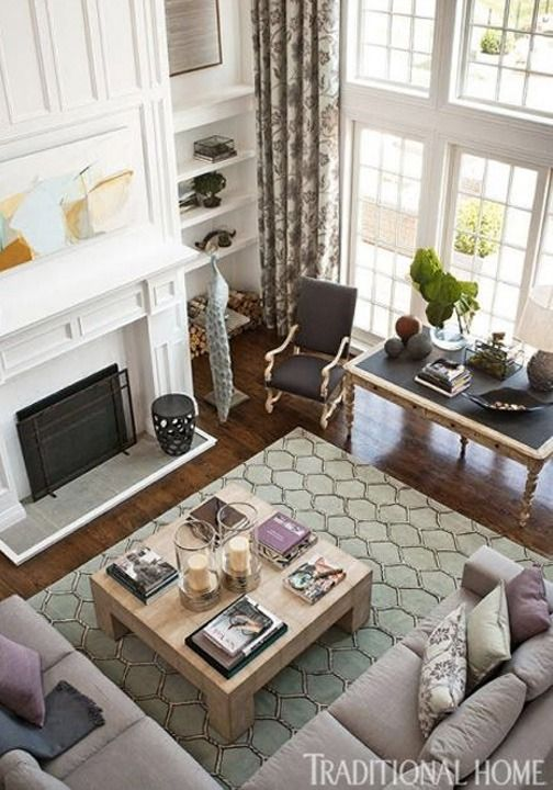10 tips for styling large living rooms other awkward spaces rh pinterest com