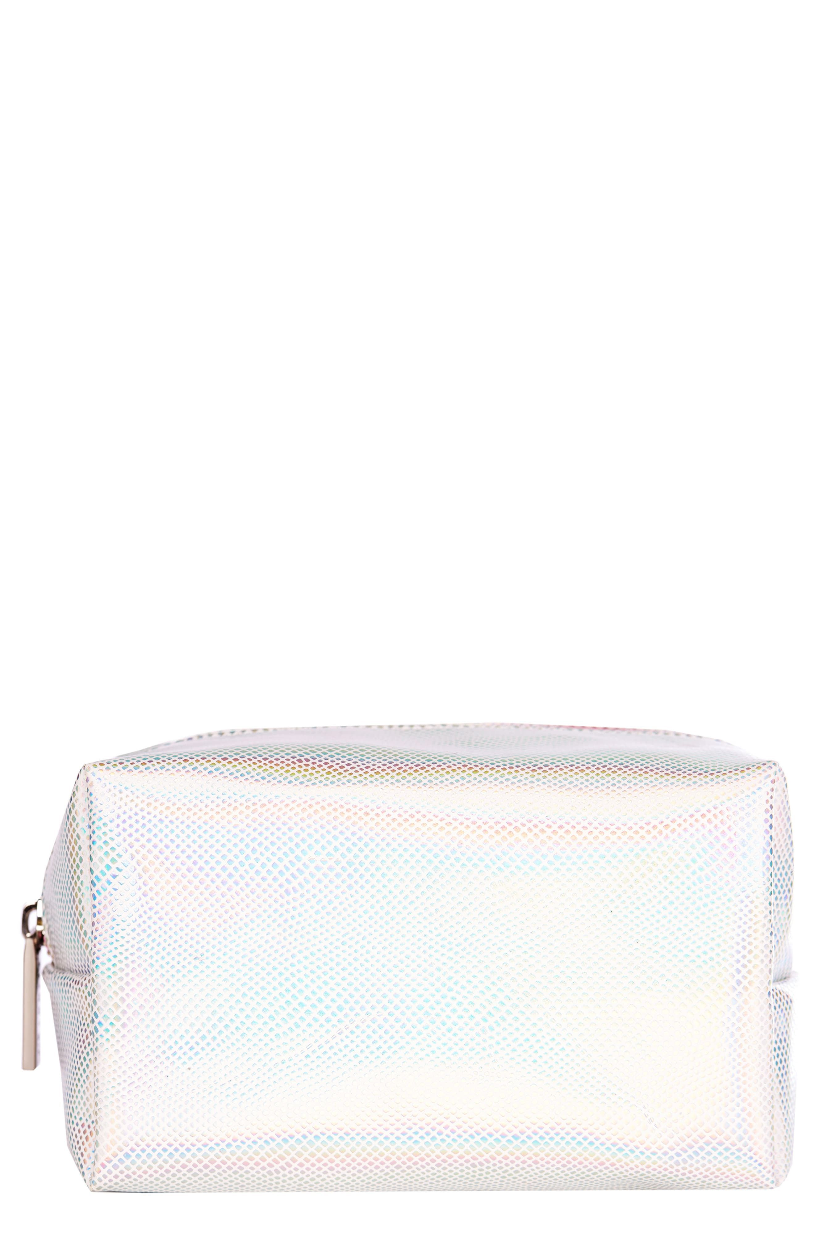 Skinnydip Holo Makeup Bag Bags, Cosmetic case, Zip