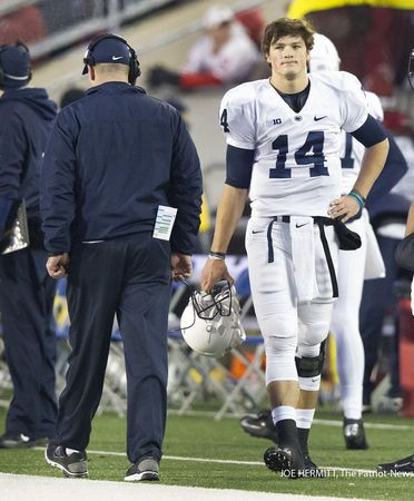 Christian Hackenberg S First Semester Of Quarterback School Ends With A On Final Exam Penn State Penn State Football Christian Hackenberg