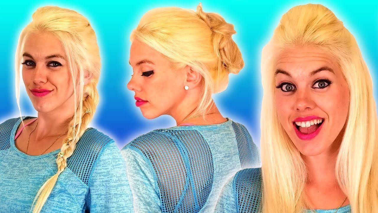 Fun Easy Hairstyles Hair Hacks Beauty Tips YouTube