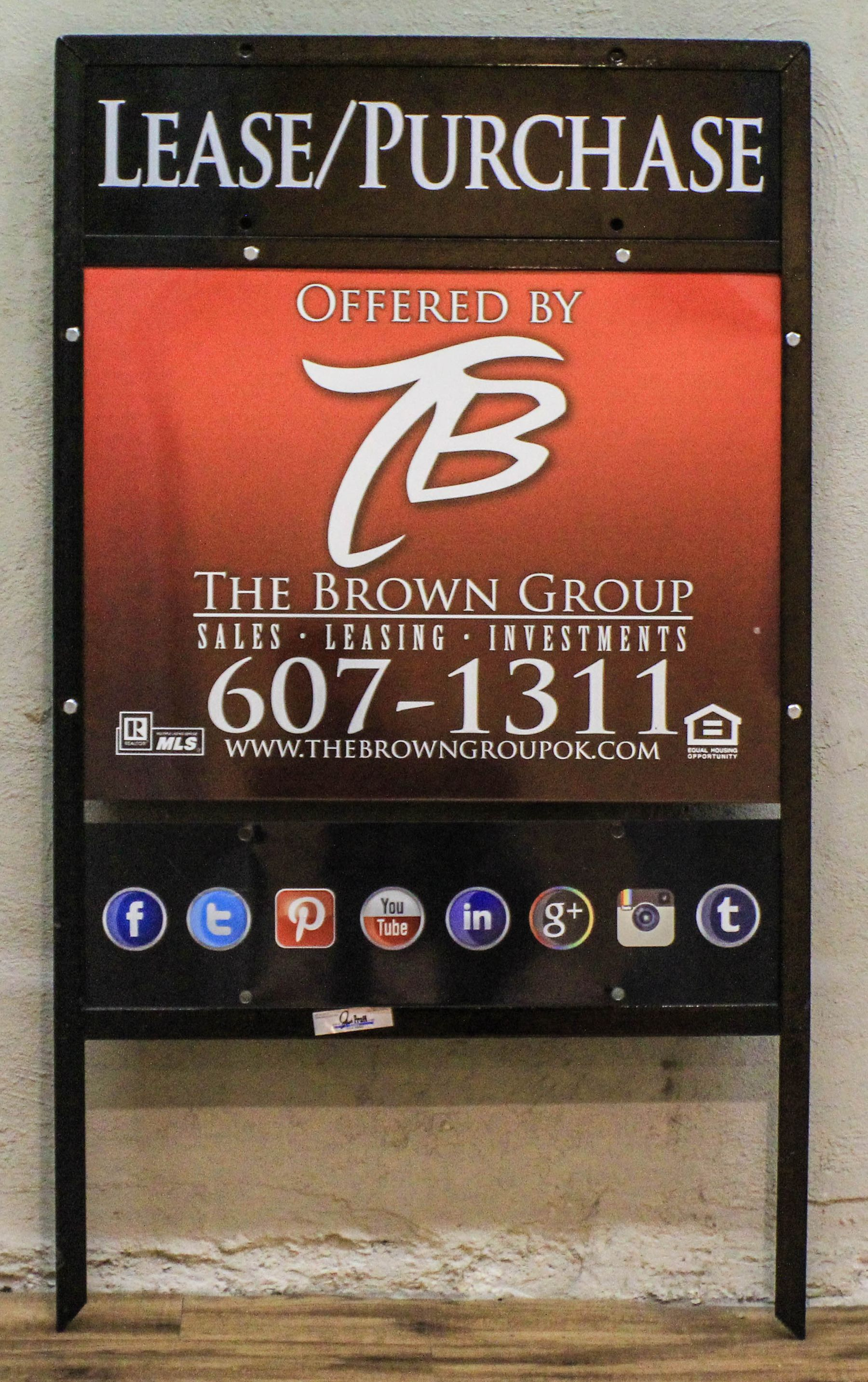 Check out the new signs for our homes okc is about to see