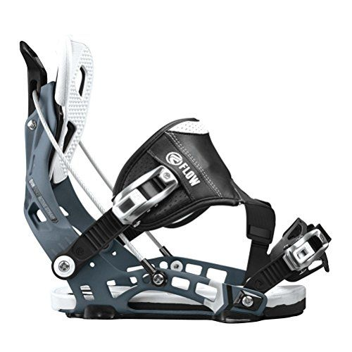 Flow NX2 Hybrid Snowboard Binding 2016 Mens Gunmetal Large