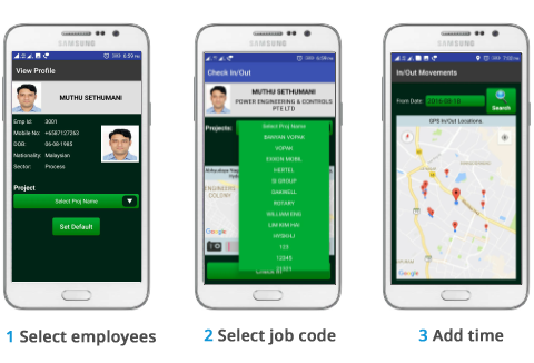 track your employee s labor on smartphones in real time with gps