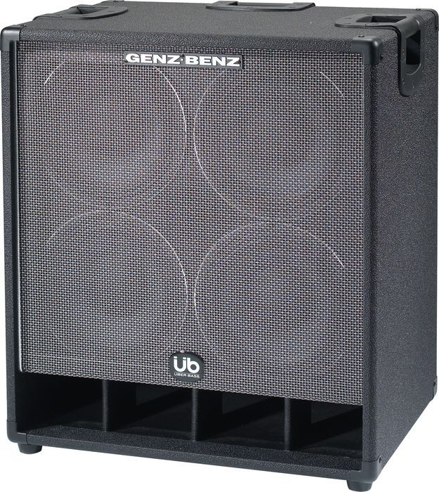 Click Image Above To Buy: Genz-benz Uber Bass 410t-ub Bass Cabinet 4 Ohm