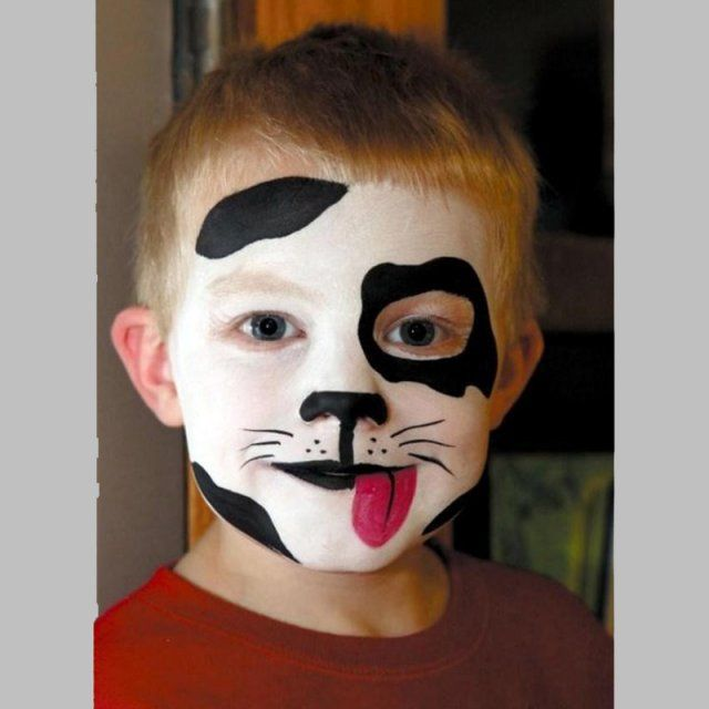 maquillage d\u0027animaux , chien ,