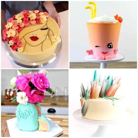 4 CAKE DECORATING IDEAS