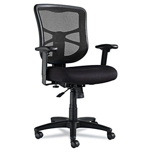 Alera Elusion Series Mesh Midback Swiveltilt Chair Black