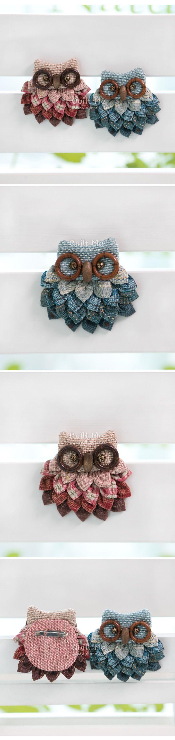 Pin de brigitte en couture | Pinterest | Broches, Lechuzas y Costura